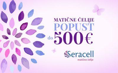AKCIJA – POPUST DO 500€ za čuvanje matičnih ćelija