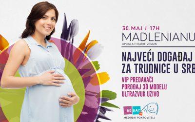 Seracell i Vita 34 pokrovitelji najvećeg događaja za trudnice u Srbiji