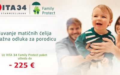 VITA Family Protect: Čuvanje matičnih ćelija – važna odluka za porodicu